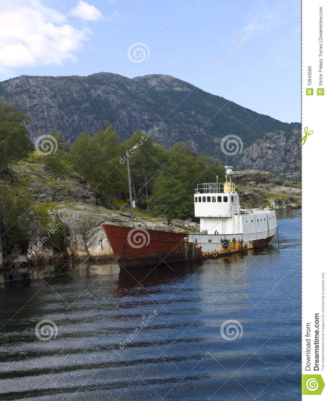 Abandoned Boat Stock Photo. Image Of Deserted, Derelict