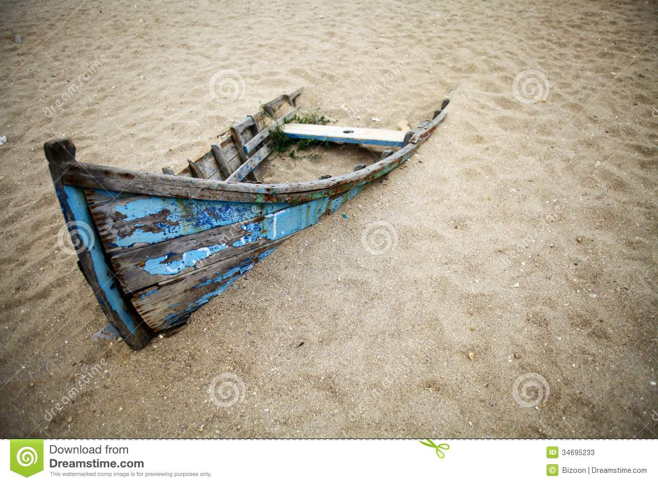 Abandoned boat stock image. Image of antique, retro, rusty ...