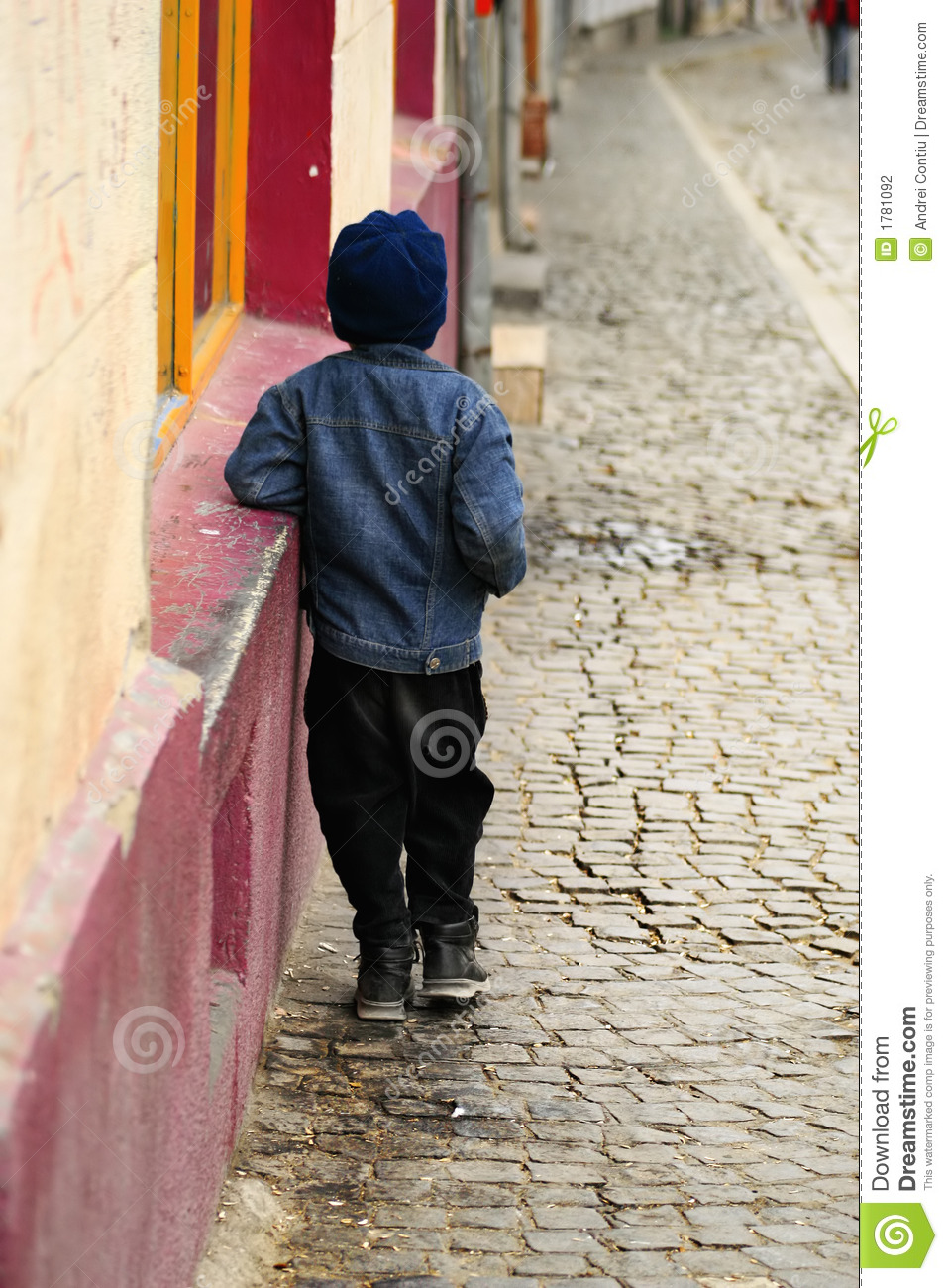 Lonely And Depressed >> Abandoned Child stock photo. Image of despondent, alone - 1781092