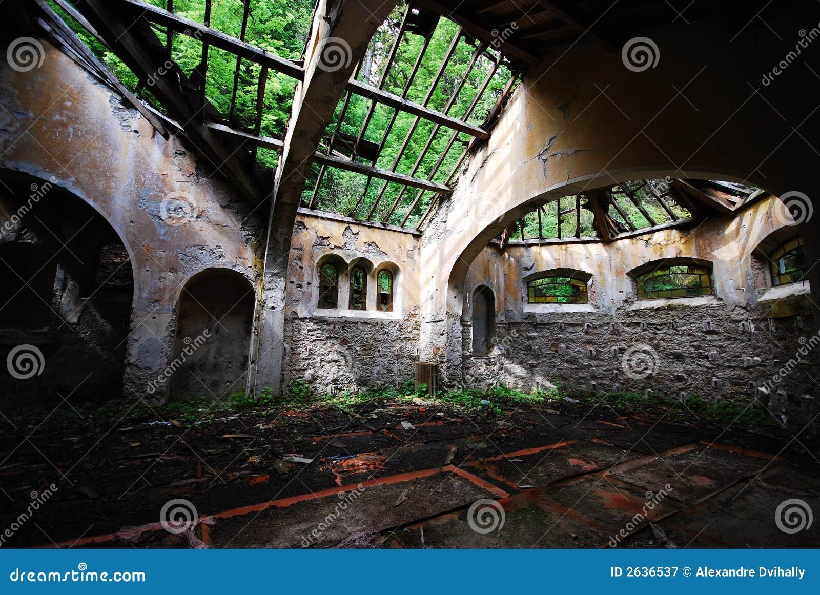 Abandoned Church Royalty Free Stock Photography Image