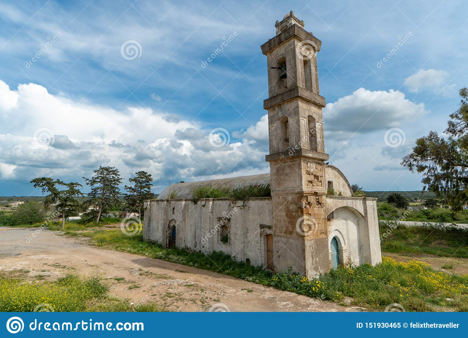 Abandoned church in Northern Cyprus