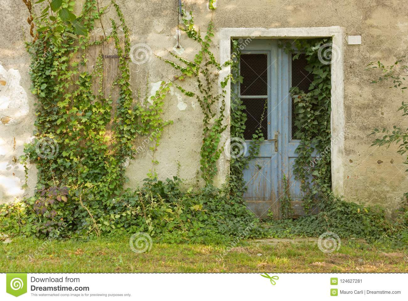 Abandoned Country House Exterior
