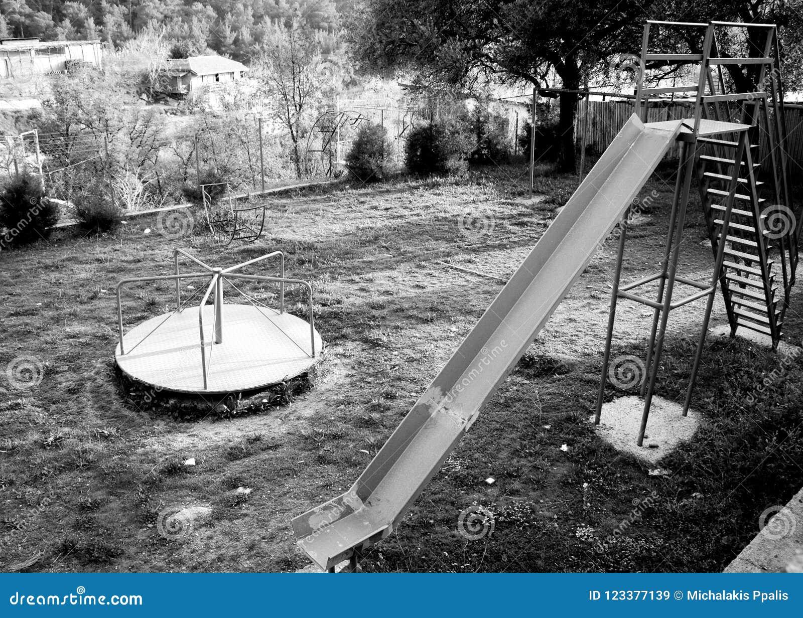 Abandoned Playground Playground Playground Equipment Free Photos