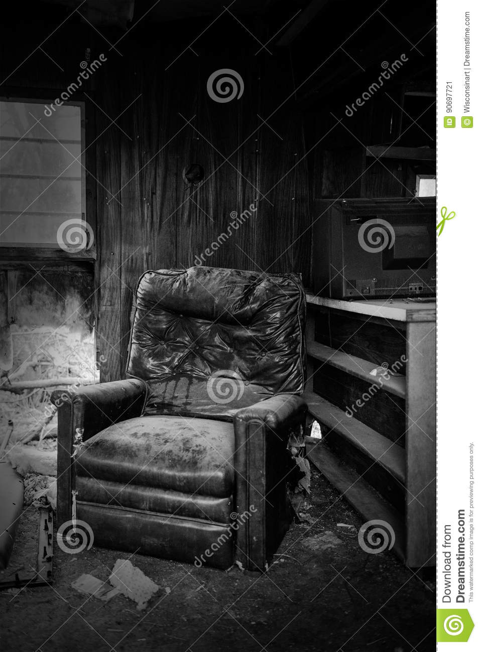 Abandoned Empty Old Desolate House Editorial Photo Image