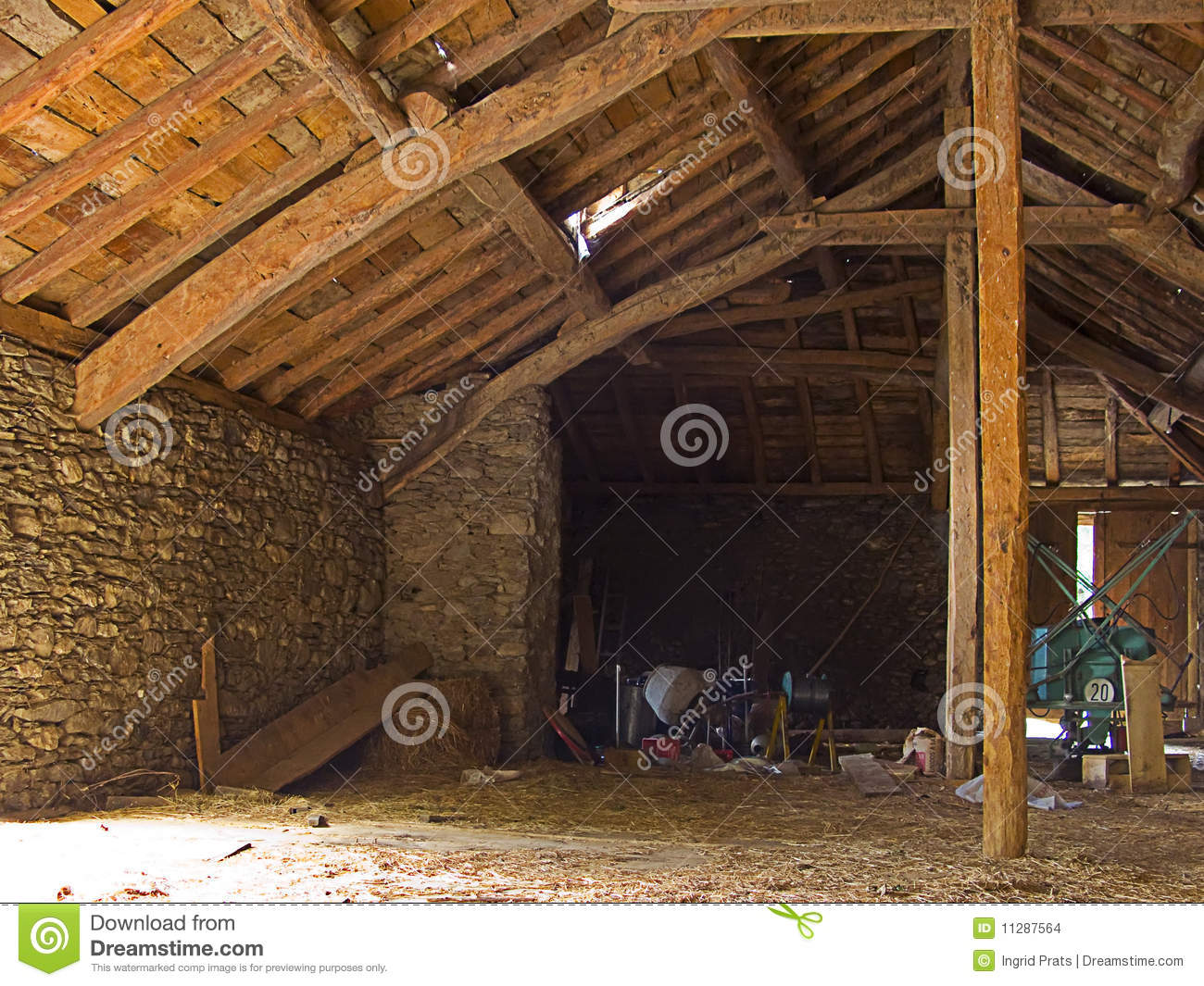 Abandoned Empty Stable Stock Photo Image Of Cabin Rural