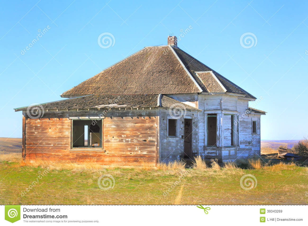 Abandoned Frontier House
