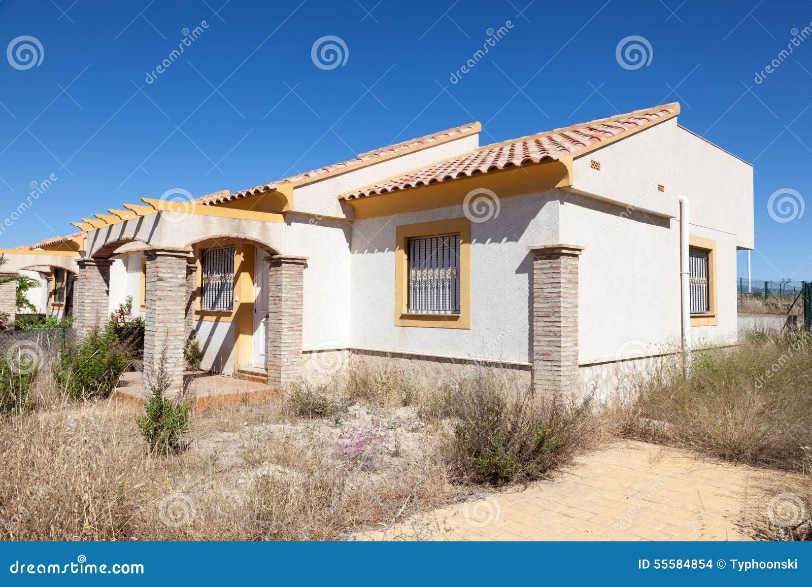 Abandoned Homes Stock Photo Image 55584854