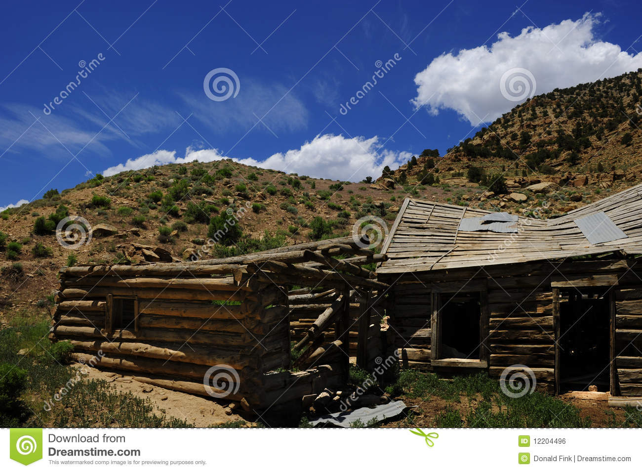 Abandoned homestead royalty free stock image image 12204496 for Free homestead