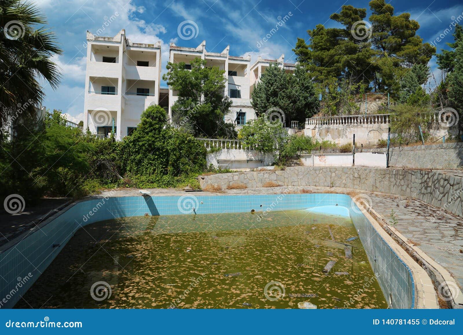 Abandoned Hotel Stock Image Image Of Construction Design 140781455