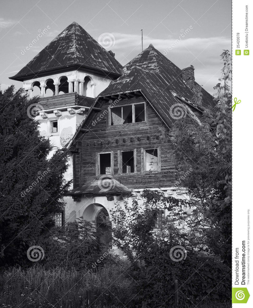 Abandoned House Stock Photo. Image Of Vintage, Outdoor