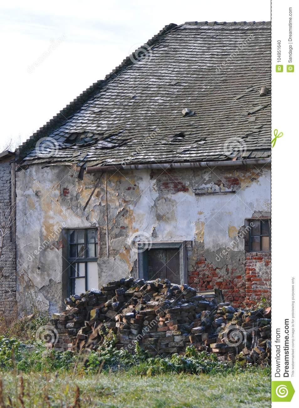 Abandoned house stock photo  Image of deteriorated, abandon