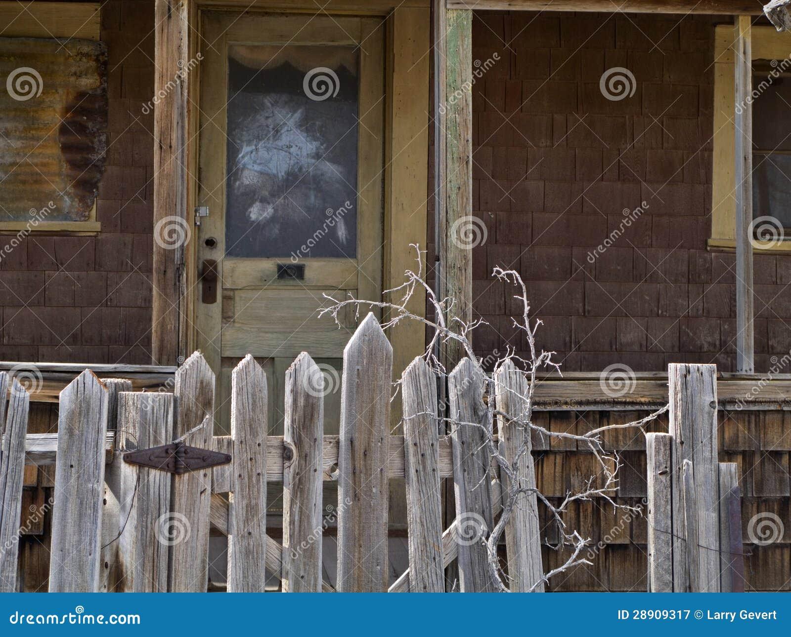 Abandoned Door Gate ...