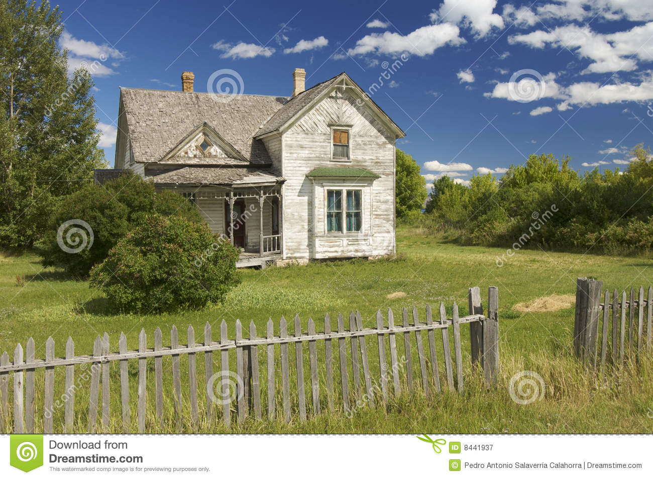 Abandoned house in wyoming royalty free stock image for Meadow house