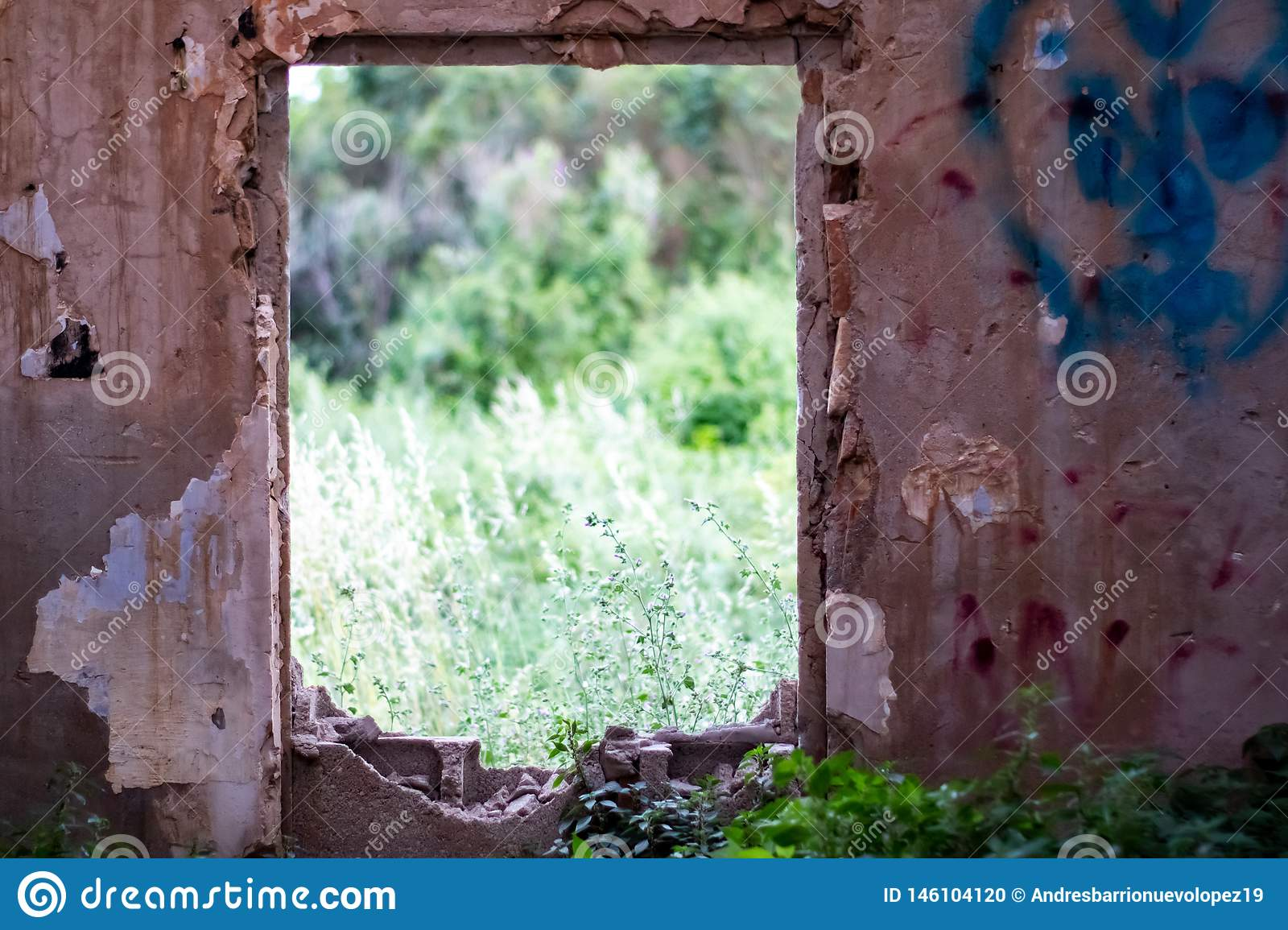 Abandoned house stock photo  Image of antique, ancient