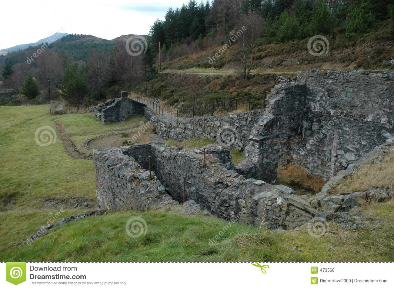 Download An abandoned lead mine stock photo. Image of planning, mining - 473568