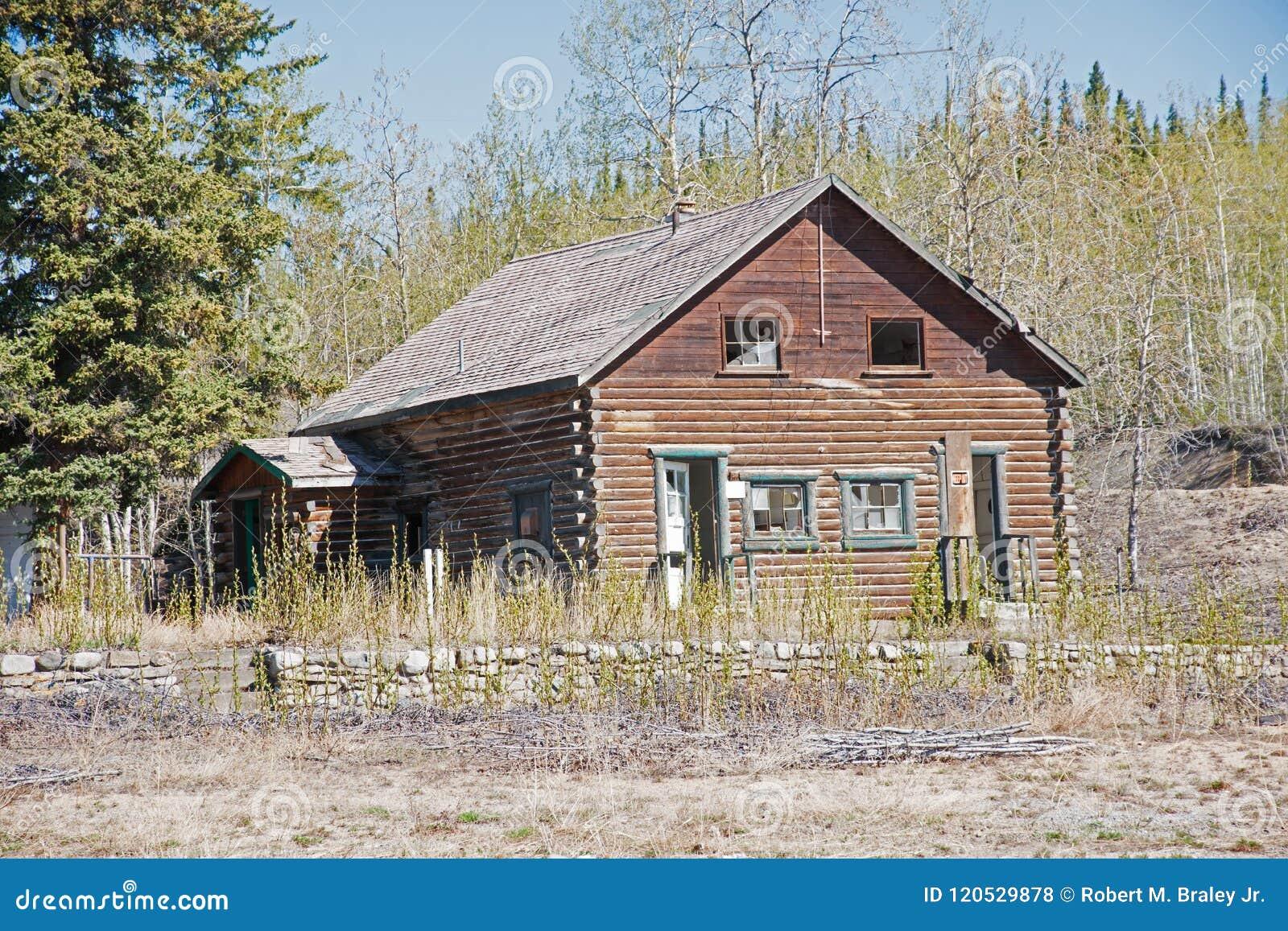 Log Buildings Northway Junction Alaska