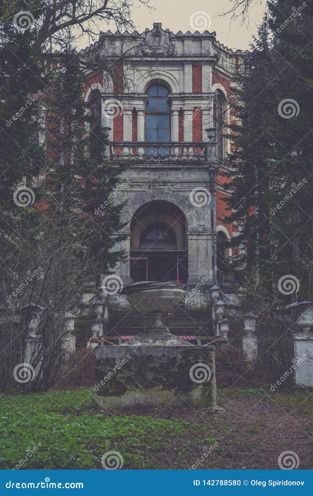 Abandoned manor, Manor in Bykovo