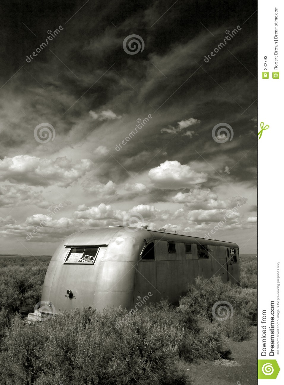 Mobile Home Prices >> Abandoned Mobile Home, Christmas Valley Oregon Stock Image ...