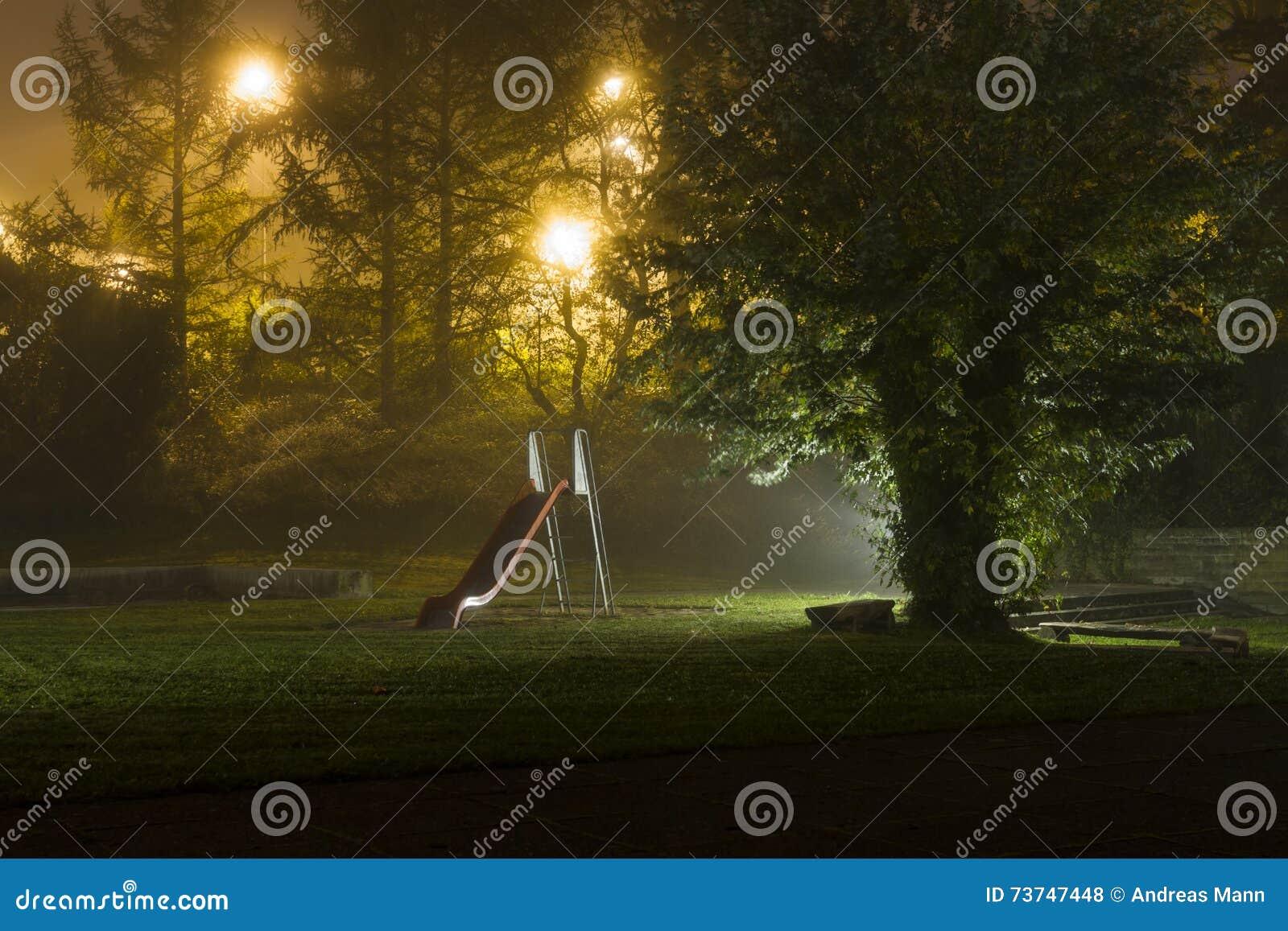 Abandoned Playground 2 Stock Photo Image Of Childhood 73747448