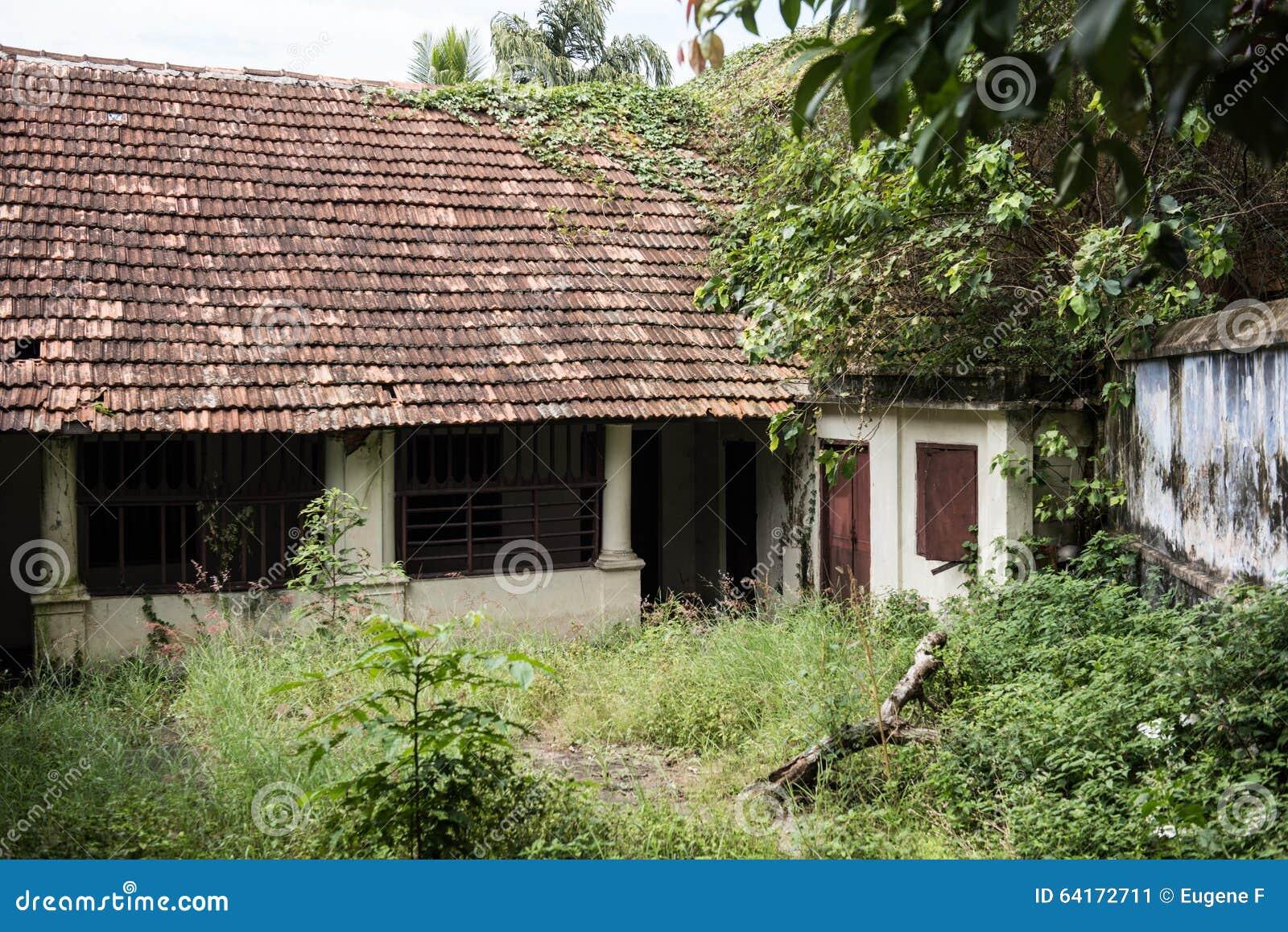 Abandoned Residence In Kerala Stock Image Image Of