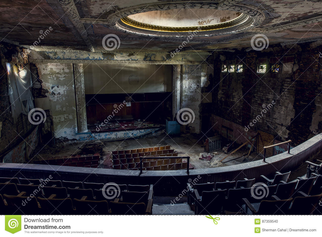 Abandoned Theater - Buffalo, New York