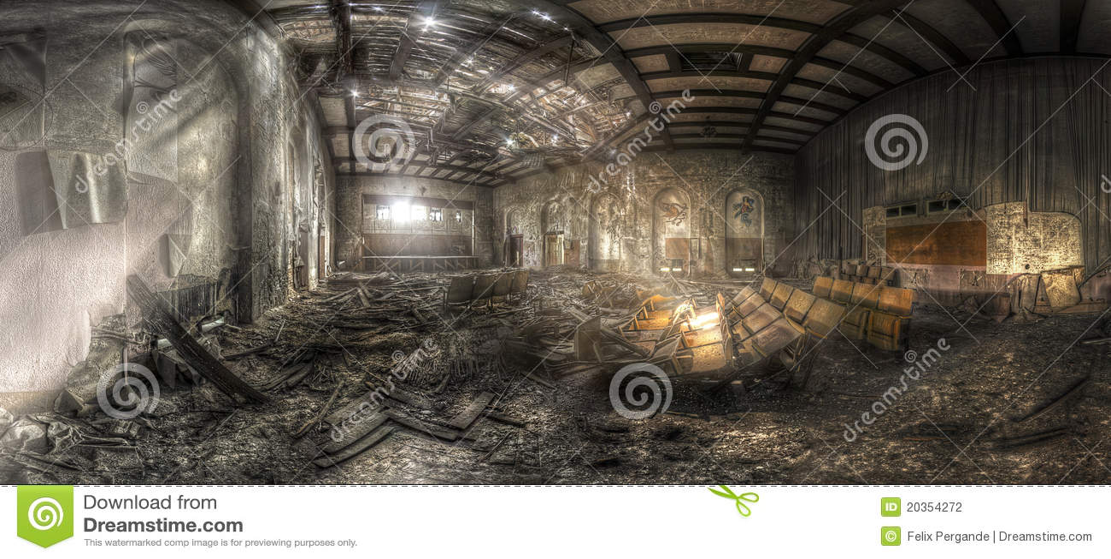 Abandoned theater II
