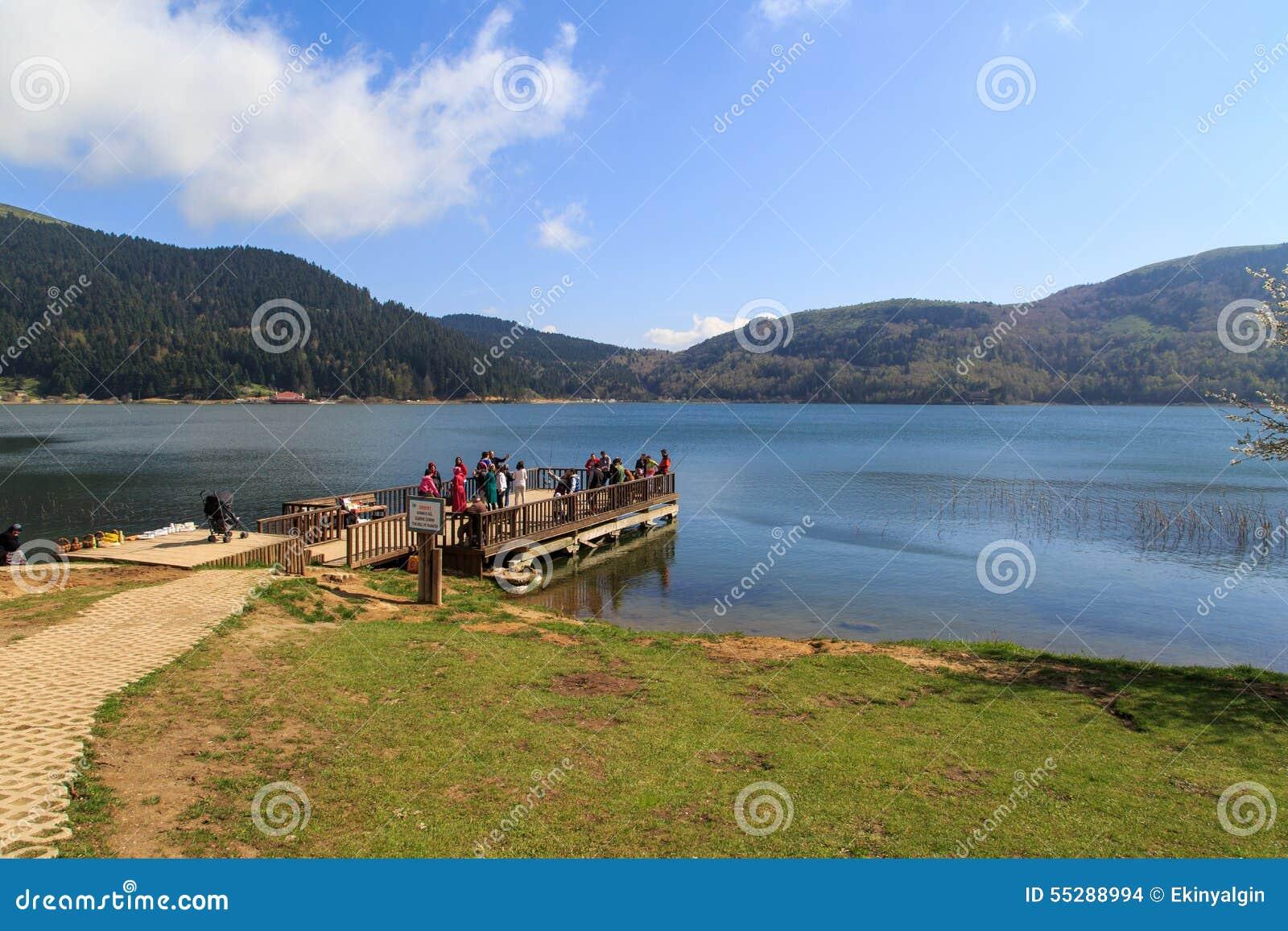 Abant jeziora widok