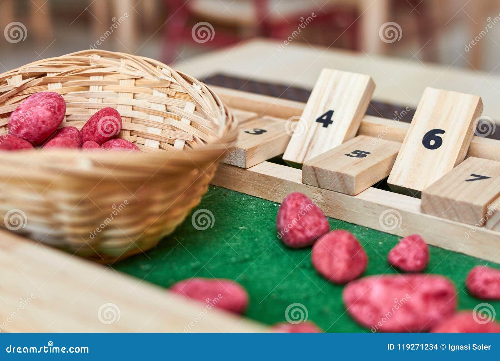 Abaque de Montessori pour le compte