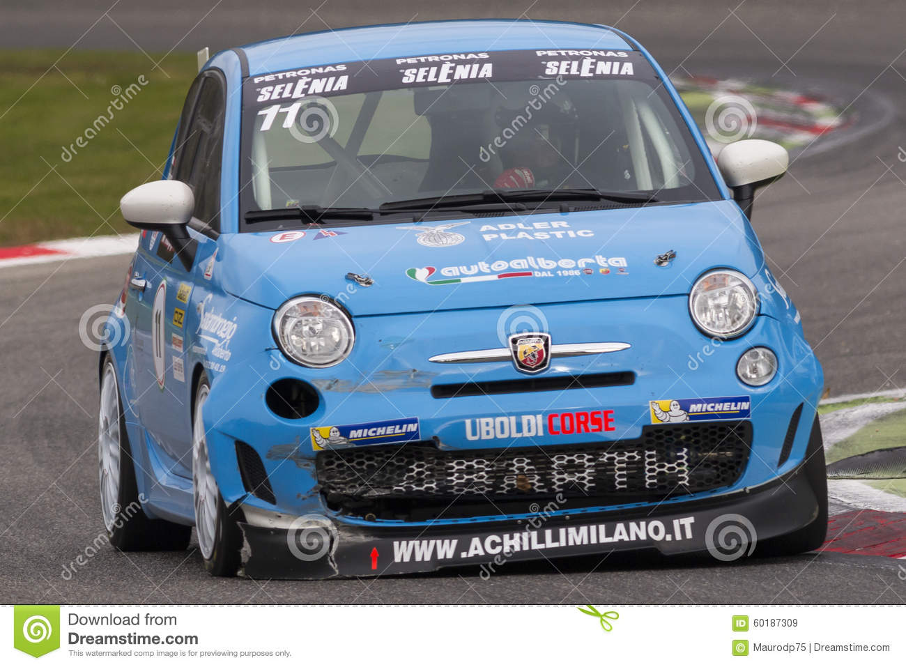 Abarth Italy & Europe Trophy Editorial Stock Image - Image of fast