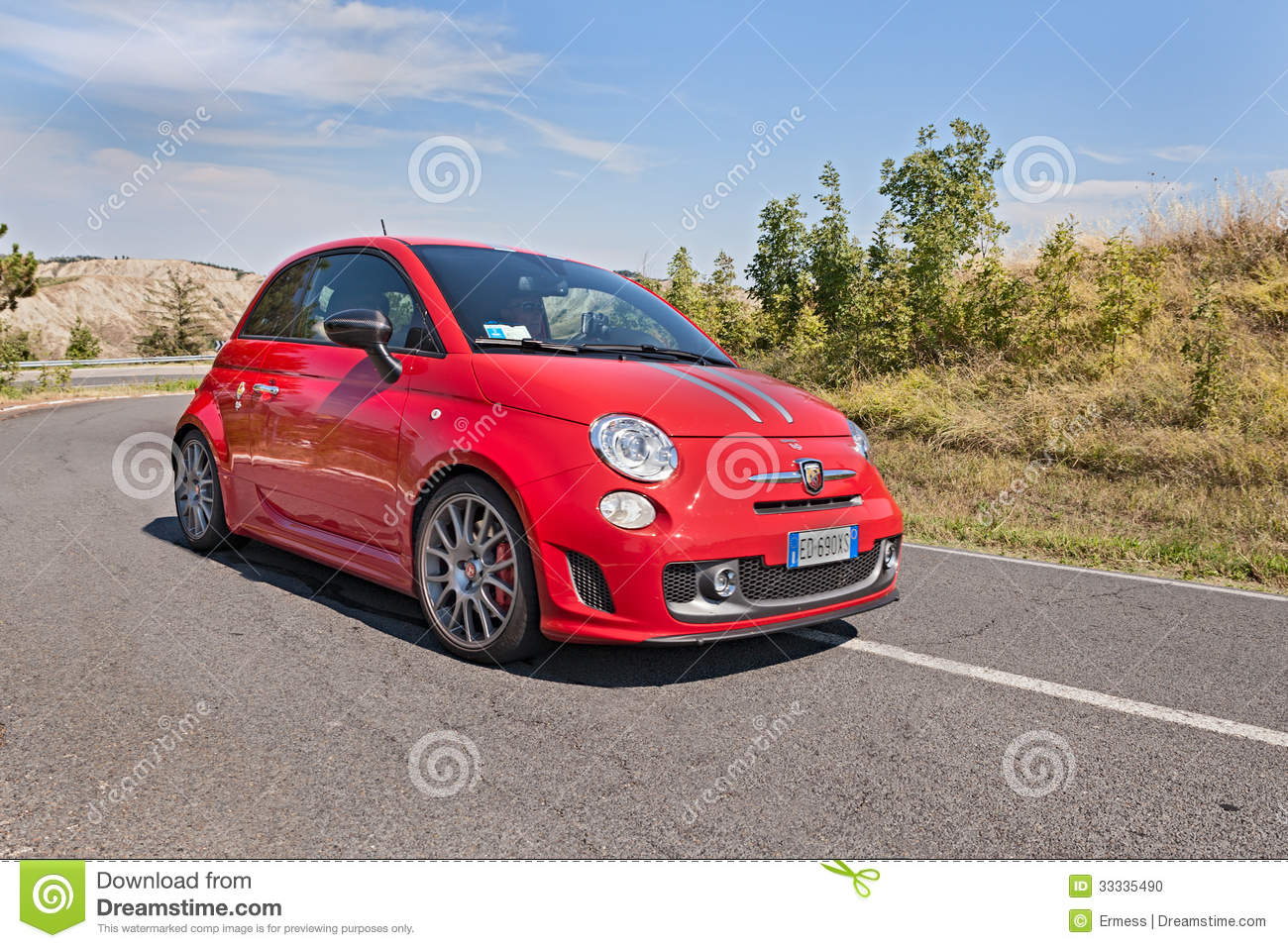 Abarth Italy Amp Europe Trophy Editorial Photo