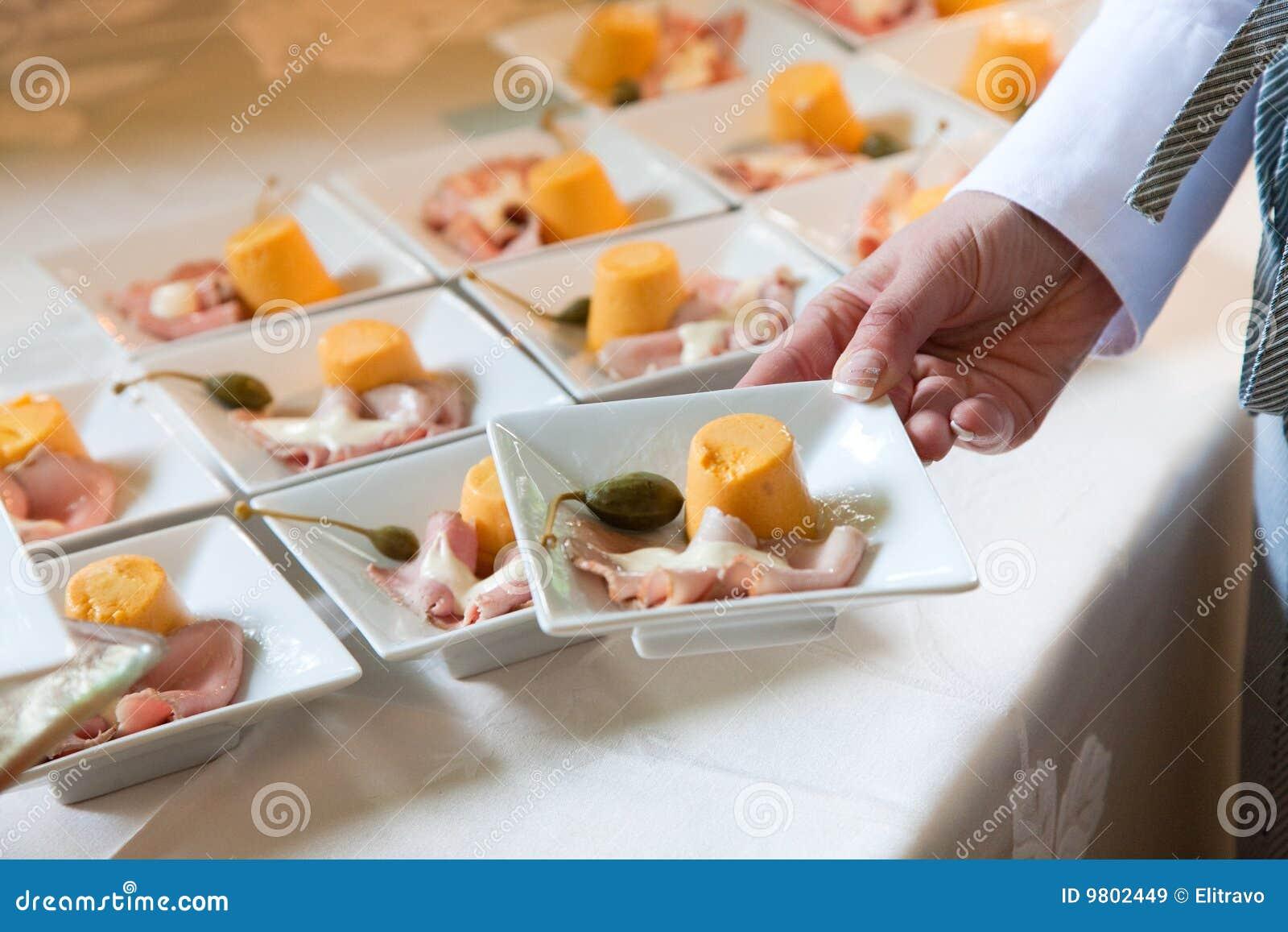 Abastecimiento de la boda