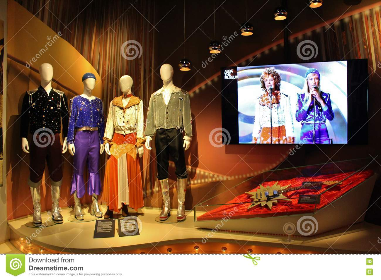 At Abba The Museum In Stockholm Editorial Photo Image Of Music