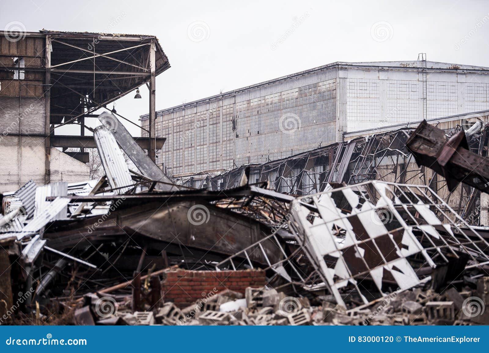 Abbandonato svezzi la fabbrica unita - Youngstown, Ohio