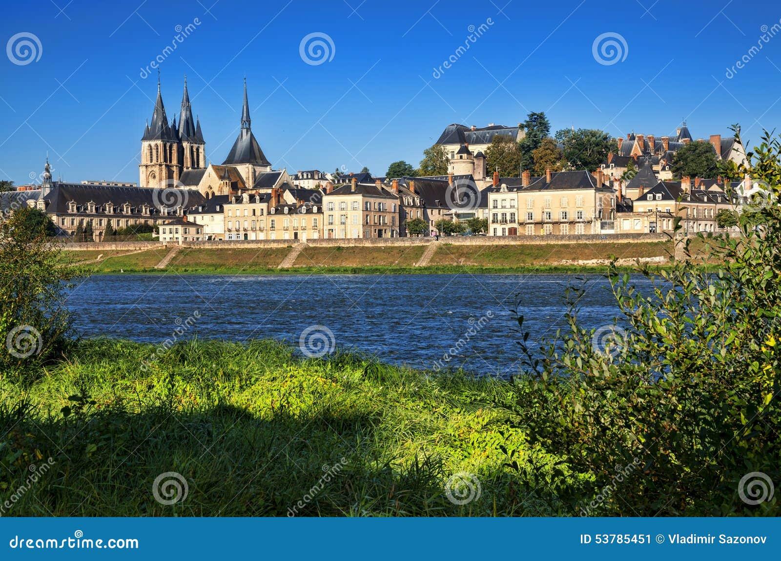Abbaye święty w Blois