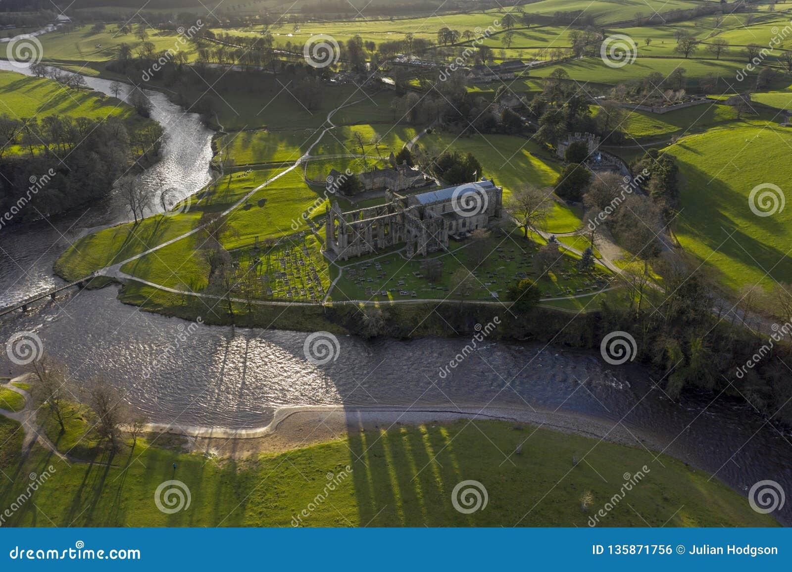 Abbaye de Bolton dans Wharfedale, North Yorkshire, Angleterre