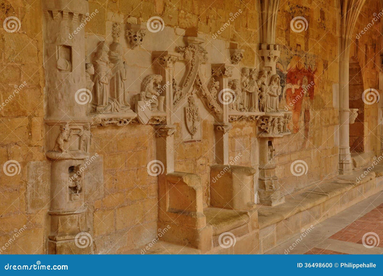 Abbaye de Cadouin dans Perigord