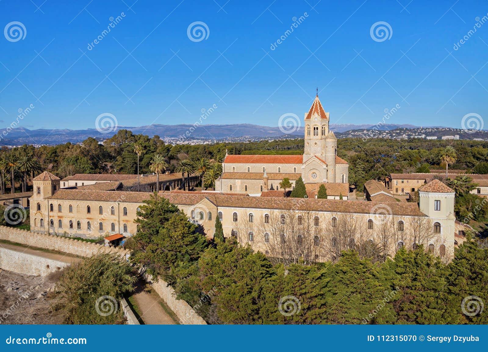 Abbaye de Lerins sur l île du saint-Honorat, France