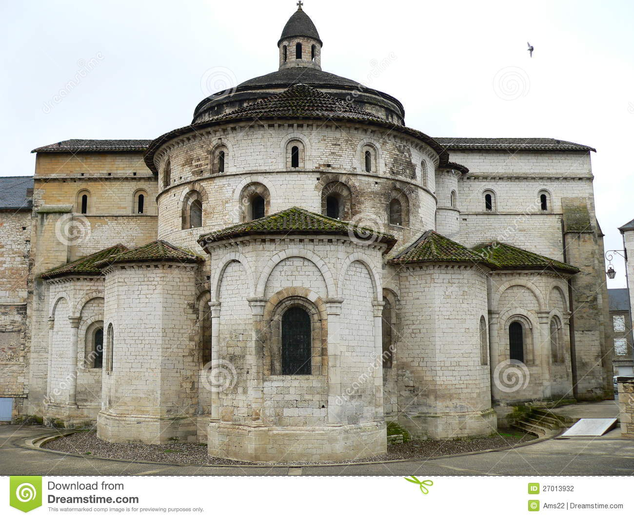 Souillac France  City pictures : Abbaye Sainte Marie, Souillac France Photographie stock Image ...