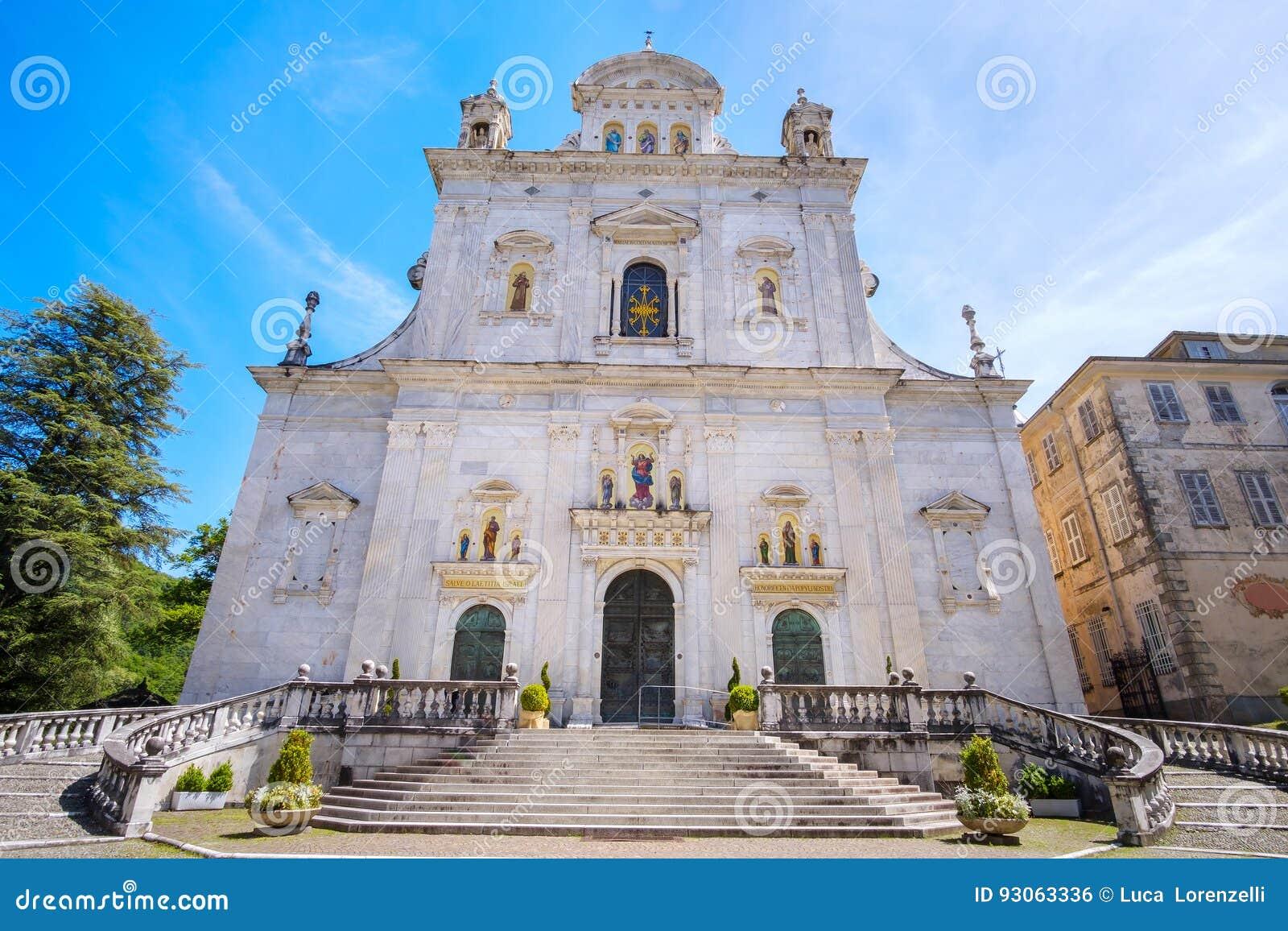 Abbazia di Sacro Monte di Varallo, provincia di Vercelli, Piemonte Italia