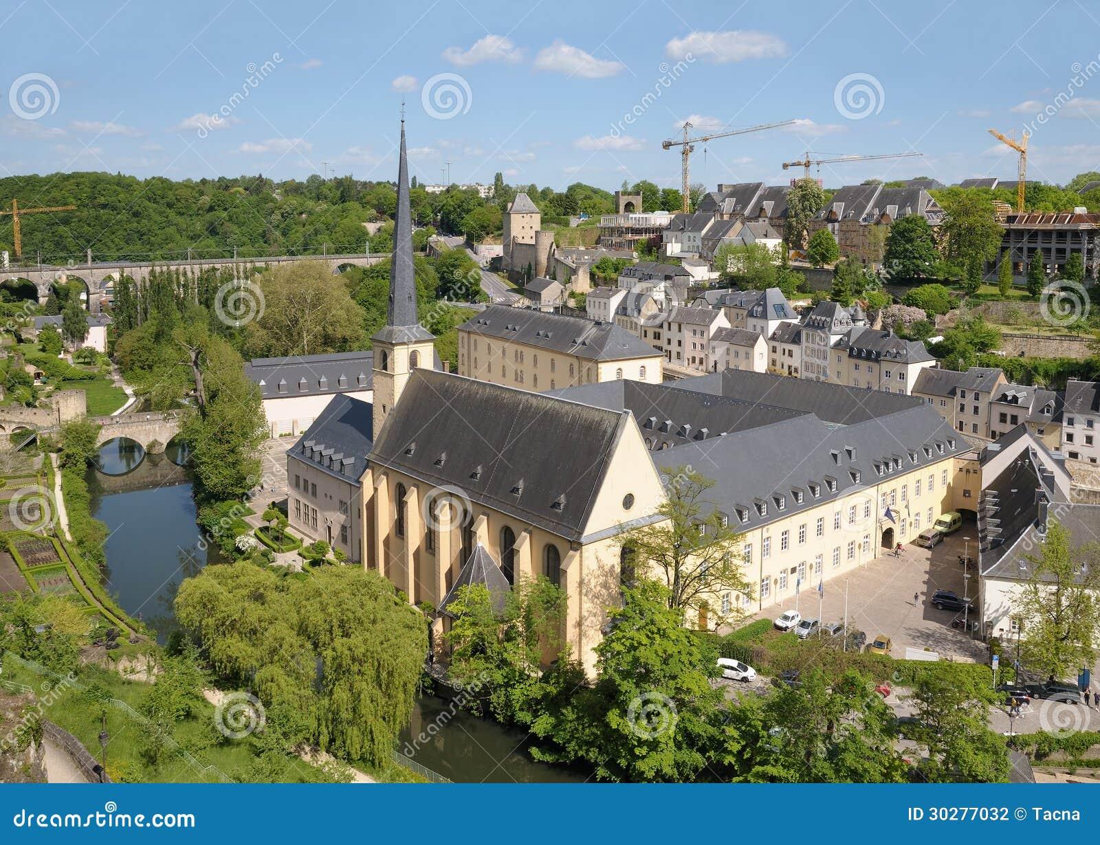 Abbey de Neumunster在卢森堡