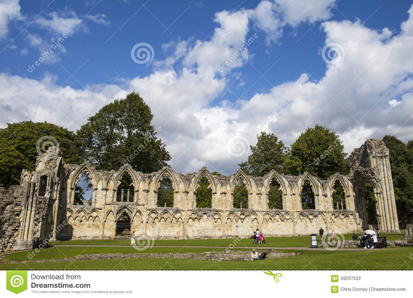 Download Abbey Ruins De St Mary En York Fotografía editorial - Imagen de antiguo, configuración: 59237522