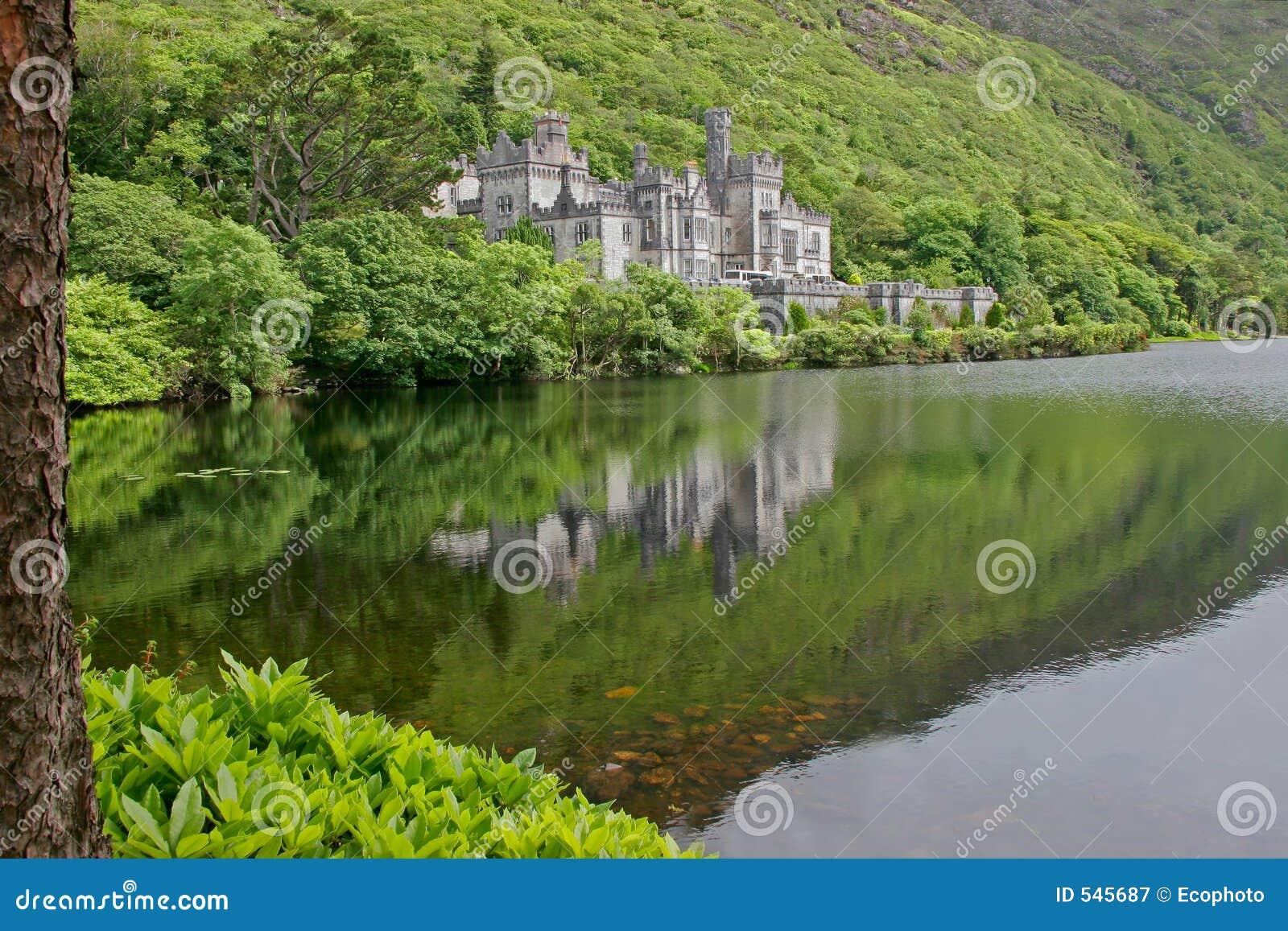 Abbey zamek kylemore Galway Ireland
