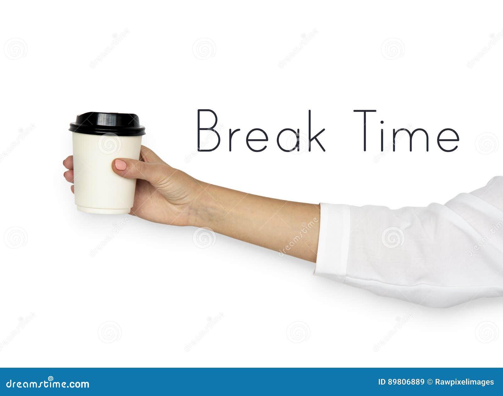 Abbia un riposo di refrigerazione di rilassamento di tempo della rottura