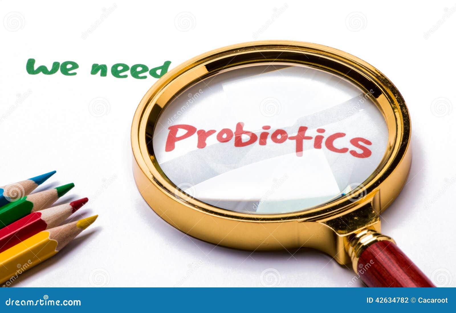 Abbiamo bisogno dei probiotici