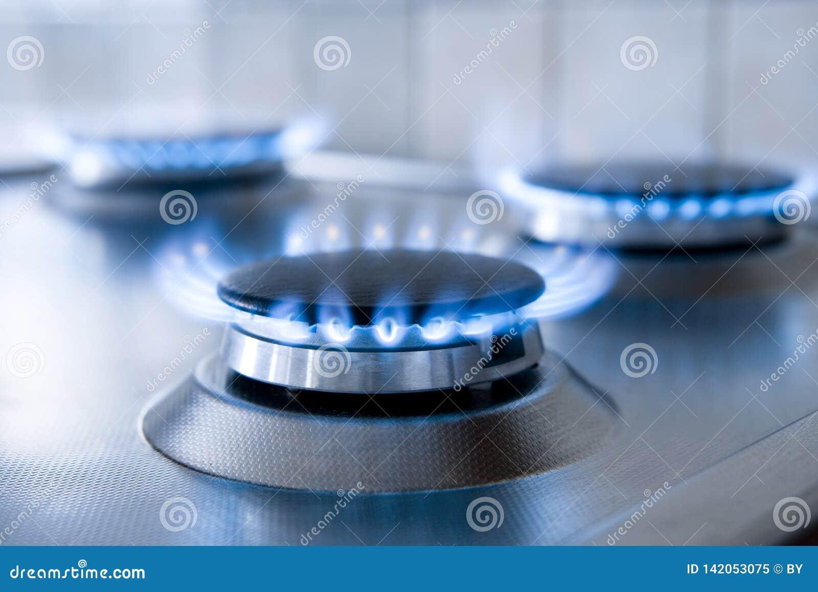 Abbildung der Gasflamme in der Schwärzung