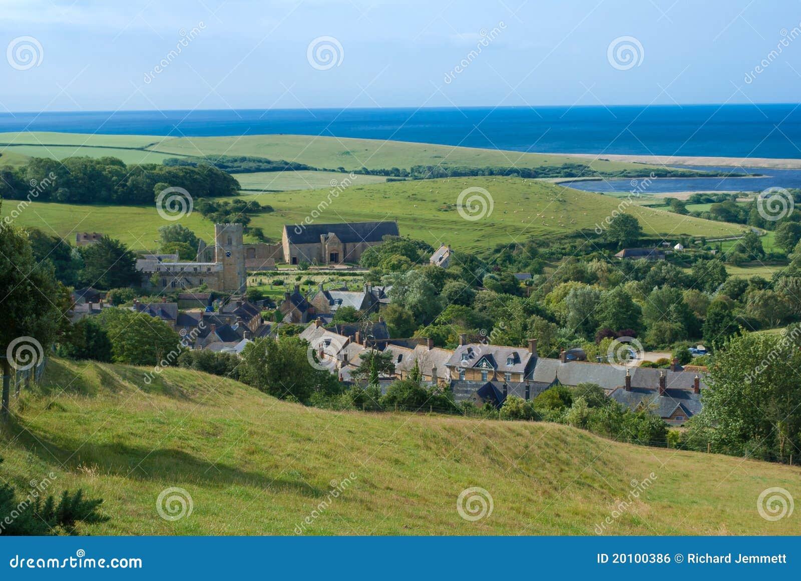 Abbotsbury多西特英国村庄