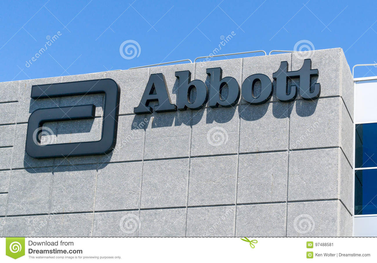 Download Abbott Laboratories Exterior And Logo Editorial Photo