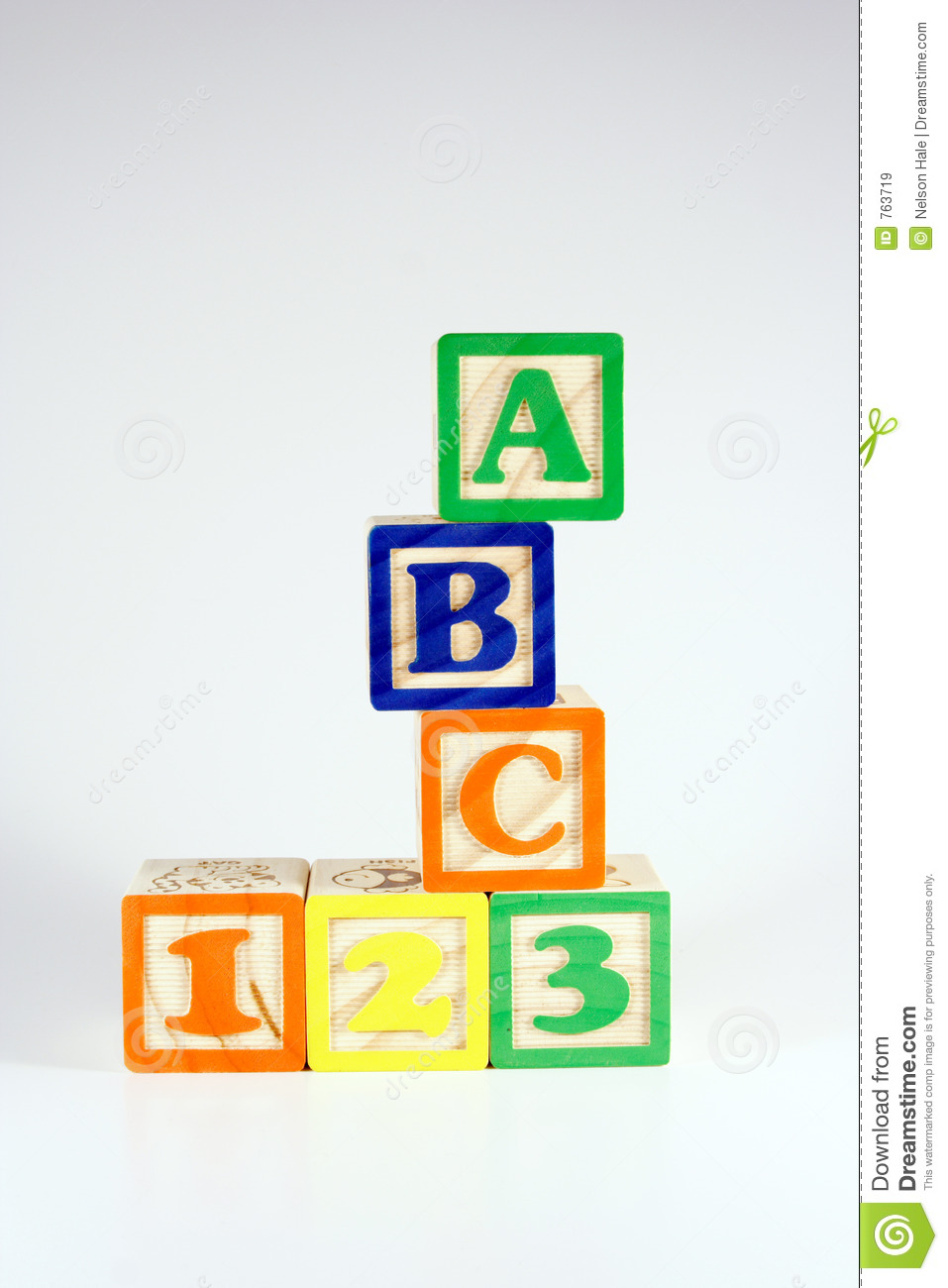 abc stock image image of isolated white hobbies  abc 123