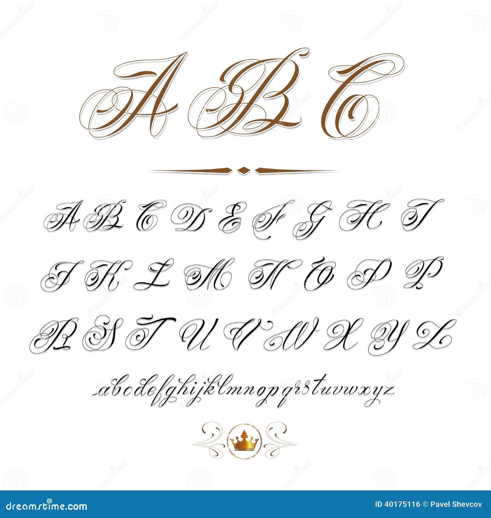 Imagem De Stock Royalty Free Abc Image40175116 on Cursive Lowercase O