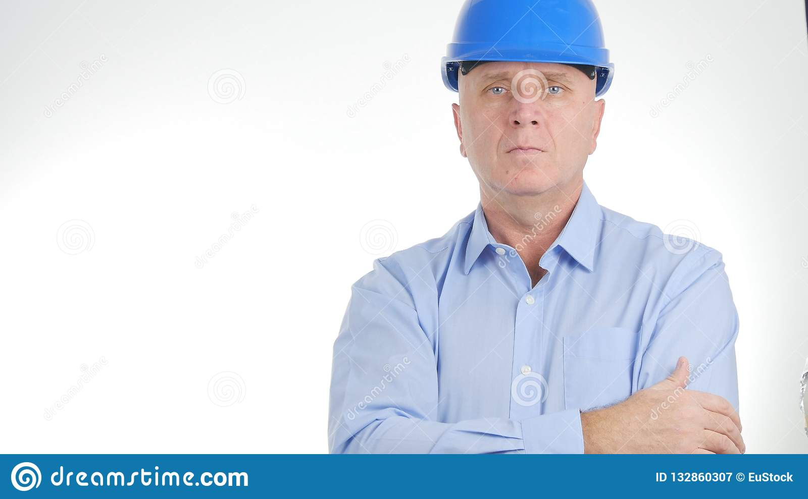 Confident Engineer Presentation in Business Meeting